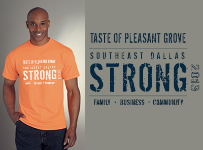 T-shirt Taste of Pleasant Grove
